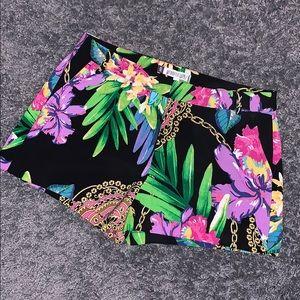 Jennifer Lopez Floral Shorts